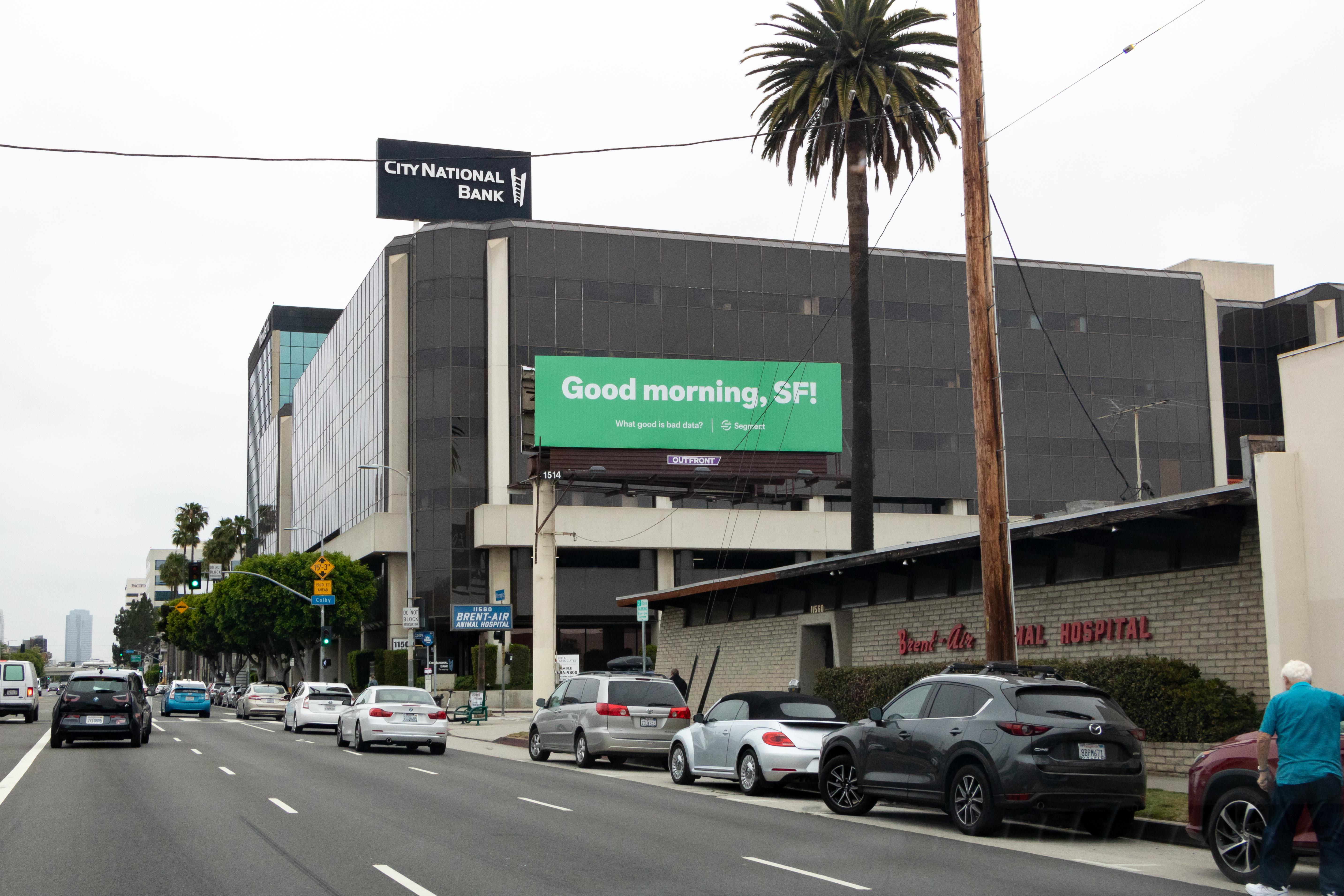 Actual location: Los Angeles