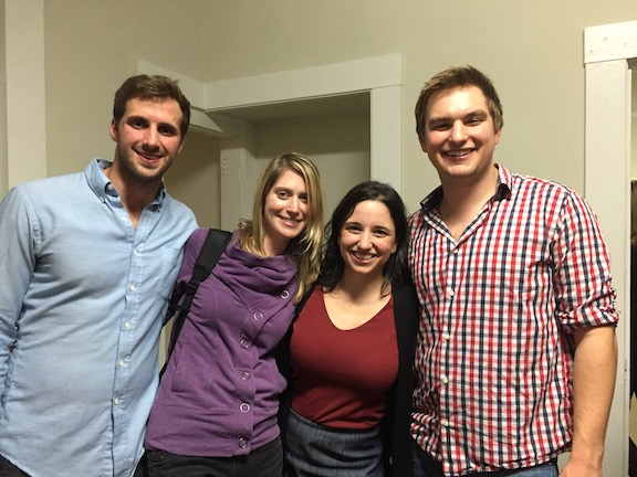 The Picnic Health team after graduating from a house in Redwood City to a real office in the Mission District of SF.