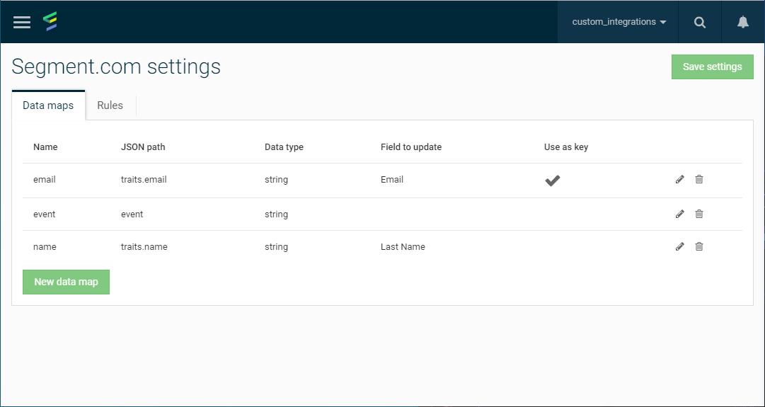 Emarsys Email Marketing Integration · Segment