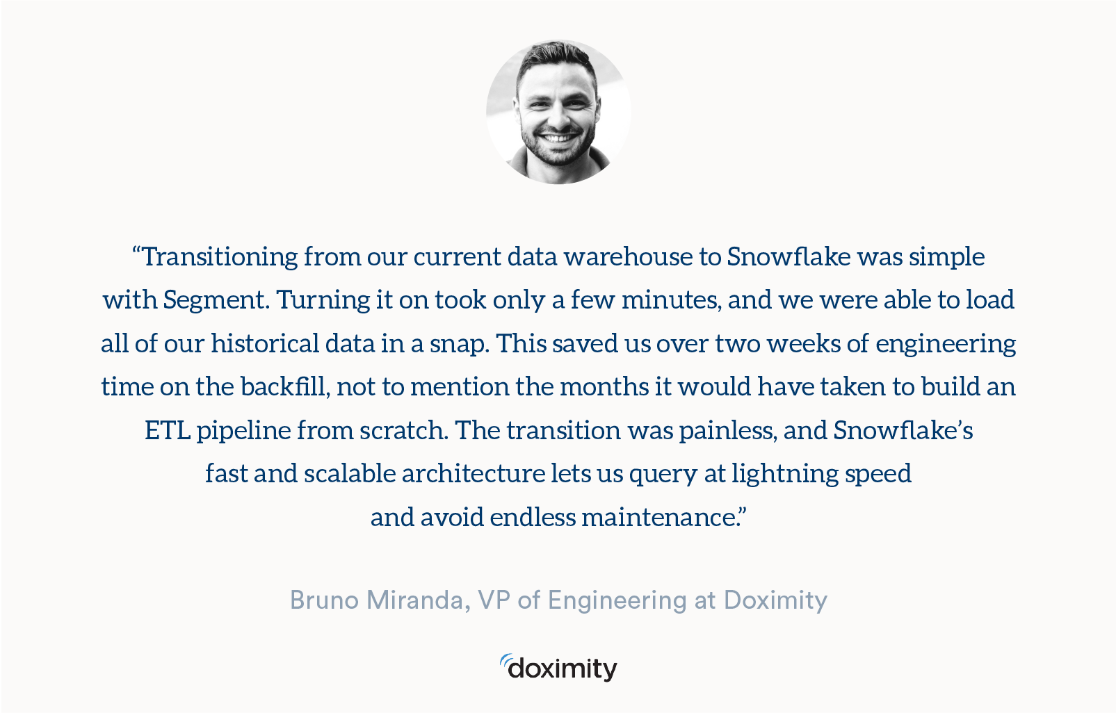 Snowflake is now available on Segment · Segment Blog