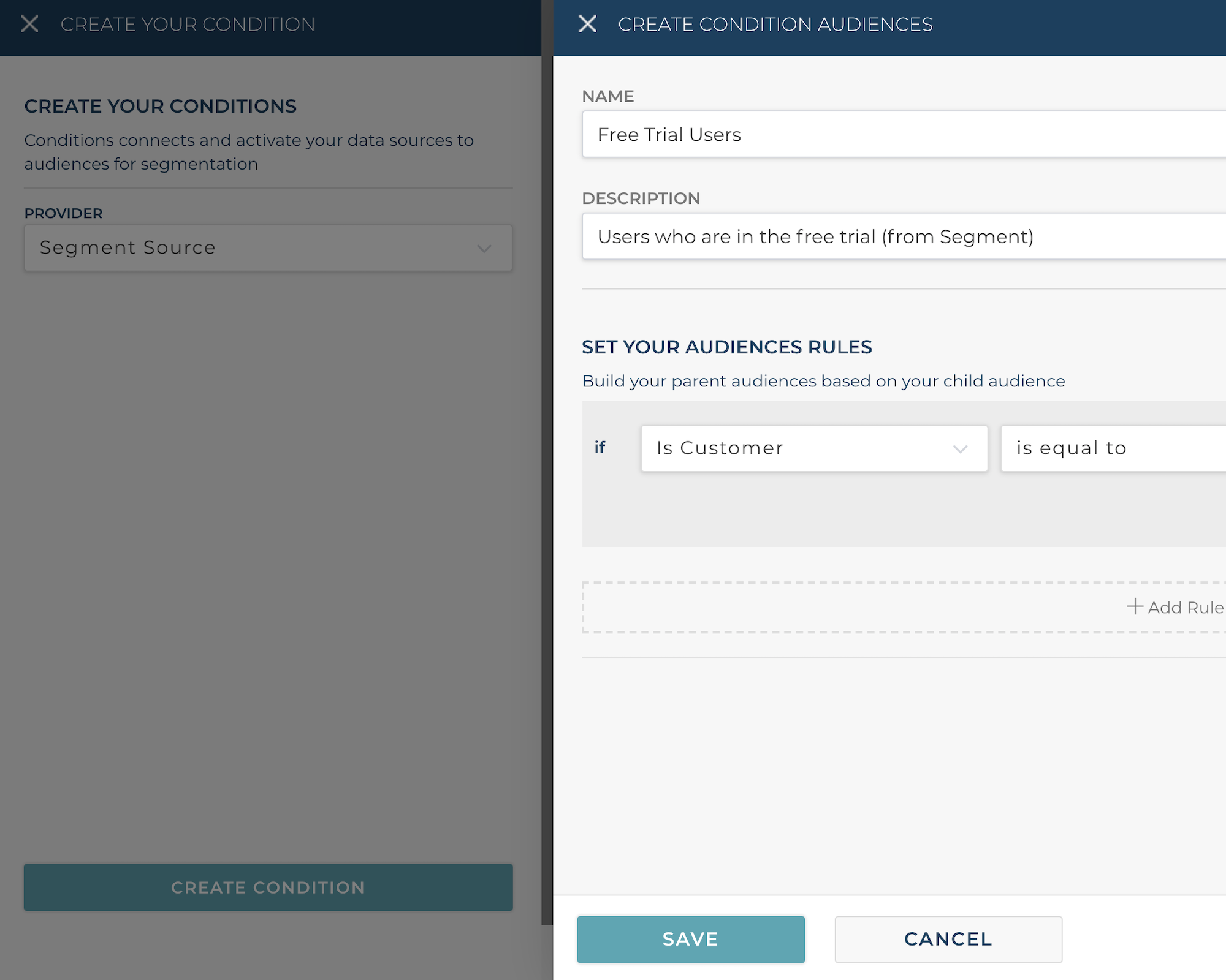 Create audiences from Segment traits and attributes for better segmentation
