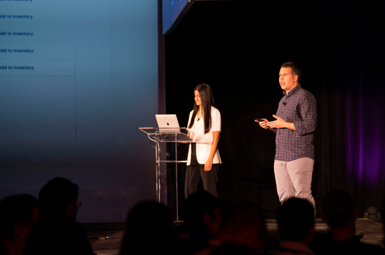 Aliya Dossa and Tido Carriero announce our new Privacy Portal at Synapse