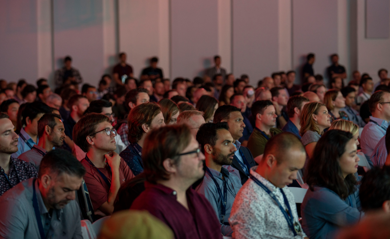 Main stage audience at Synapse 2019