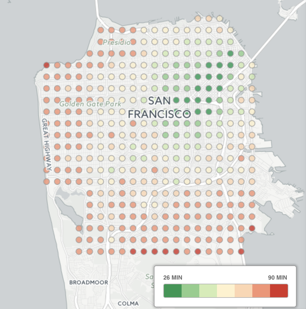 Analyzing Segment's commute time · Segment Blog