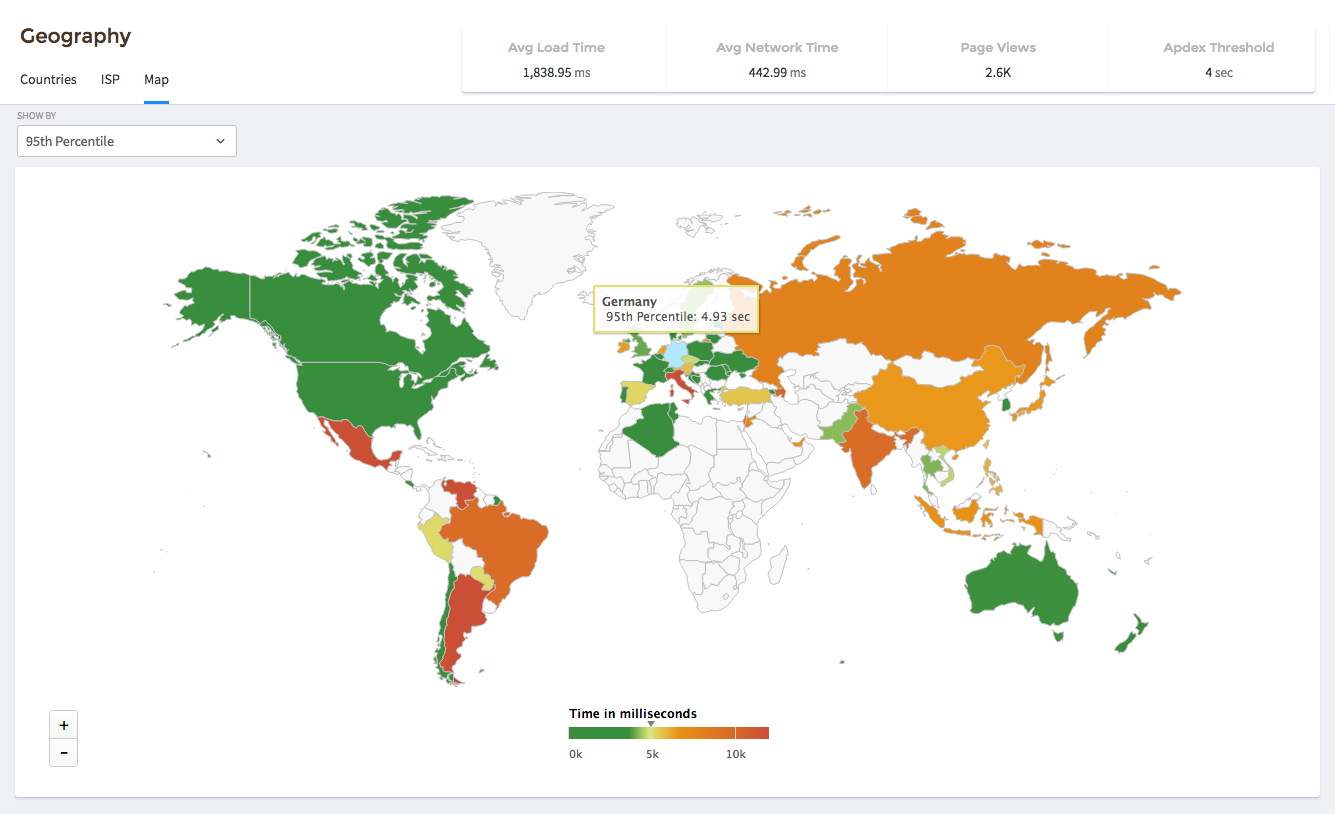 Visualize how your app performs across the world and where you should concentrate your efforts